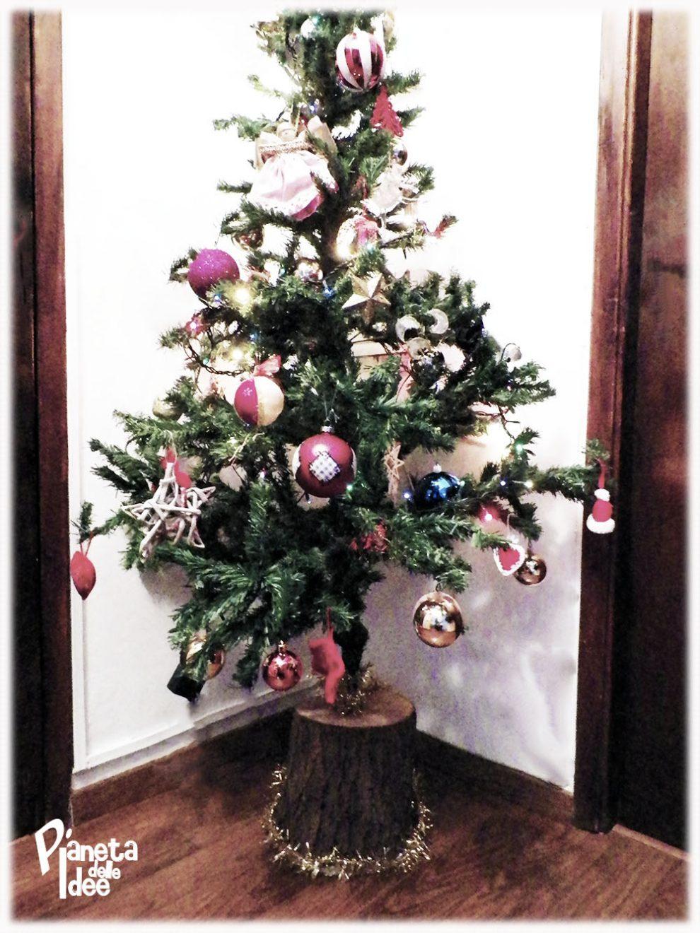 Riciclare Un Tronco Di Albero Per Il Natale Pianeta Delle Idee