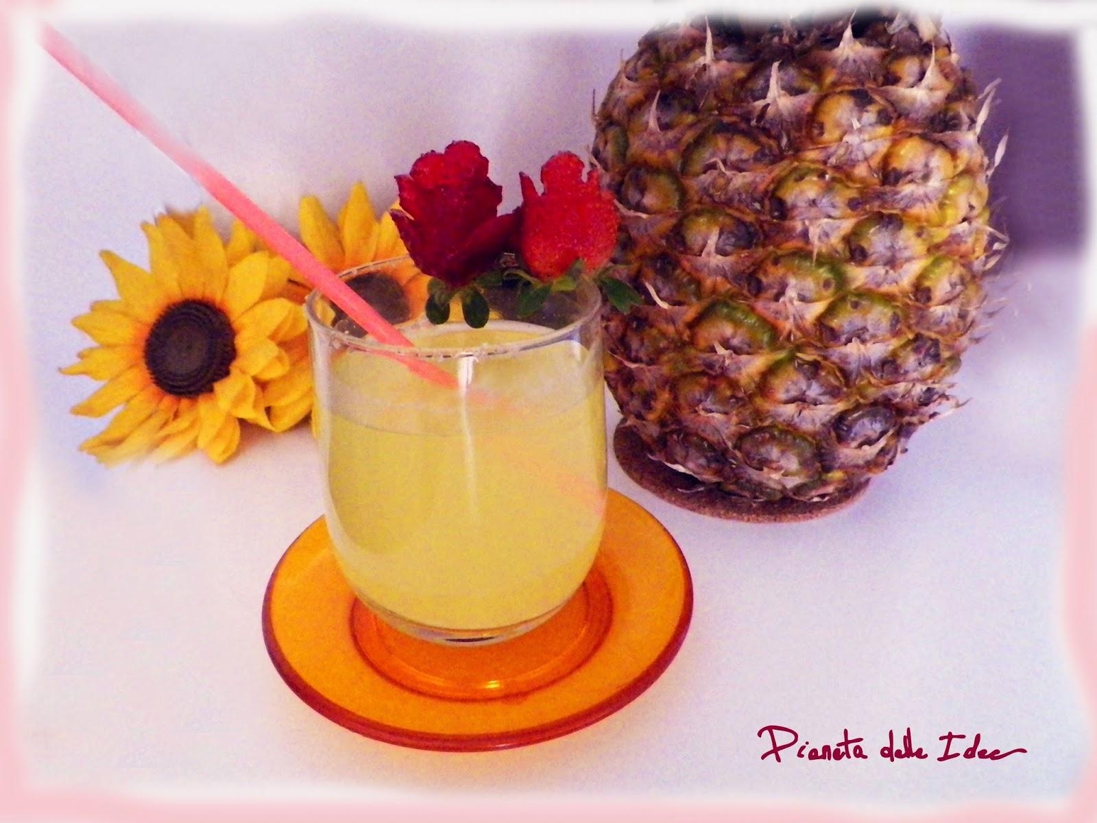 decorazione per cocktail rose di fragole facili e veloci