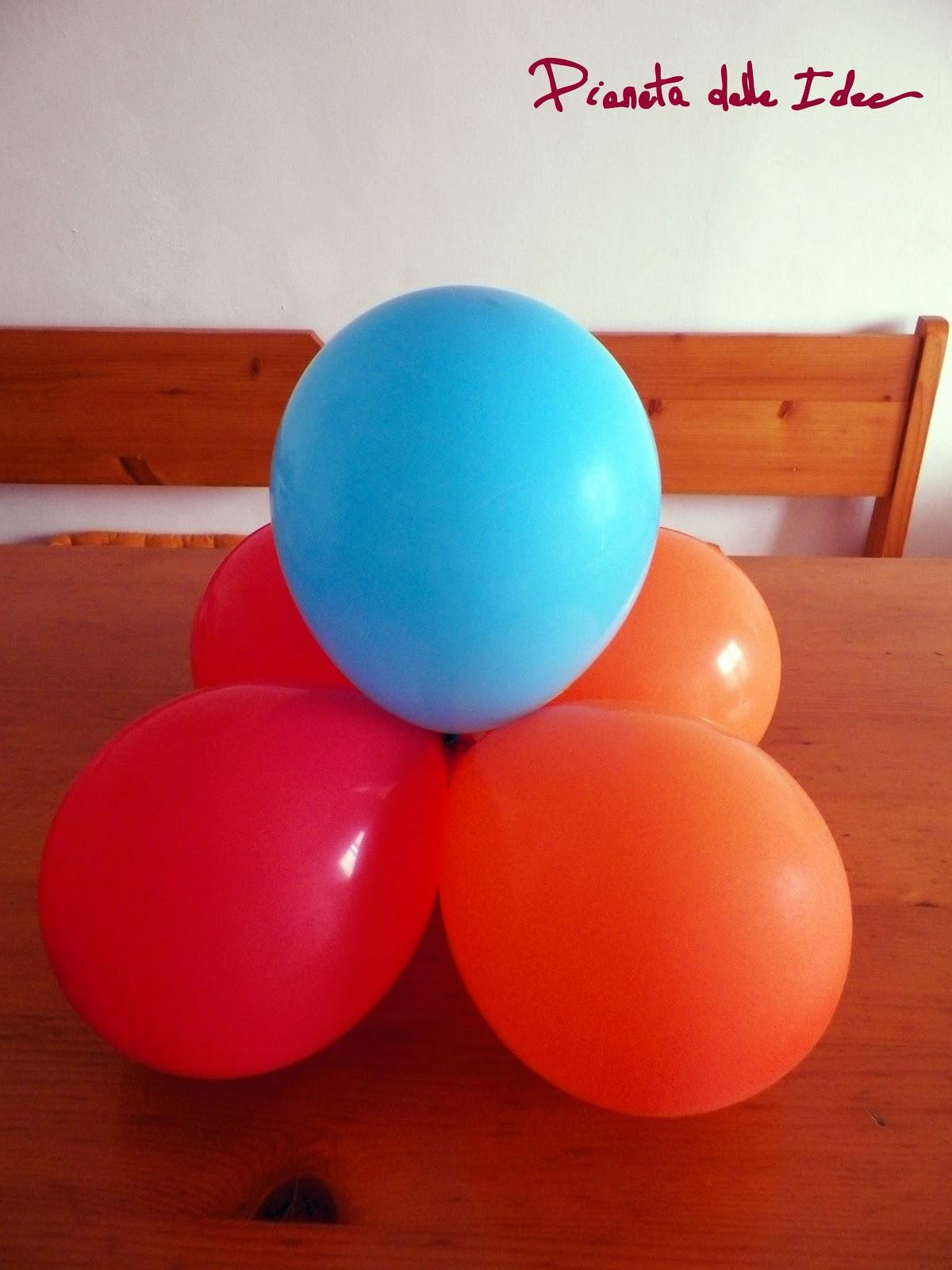 Creare Un Centrotavola Di Palloncini Per Una Festa Di Compleanno