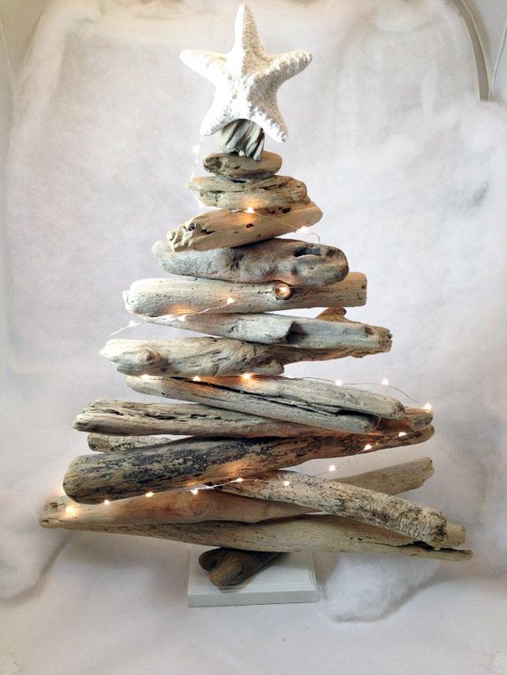 Idee natalizie con il riciclo del legno pianeta delle idee for Idee online