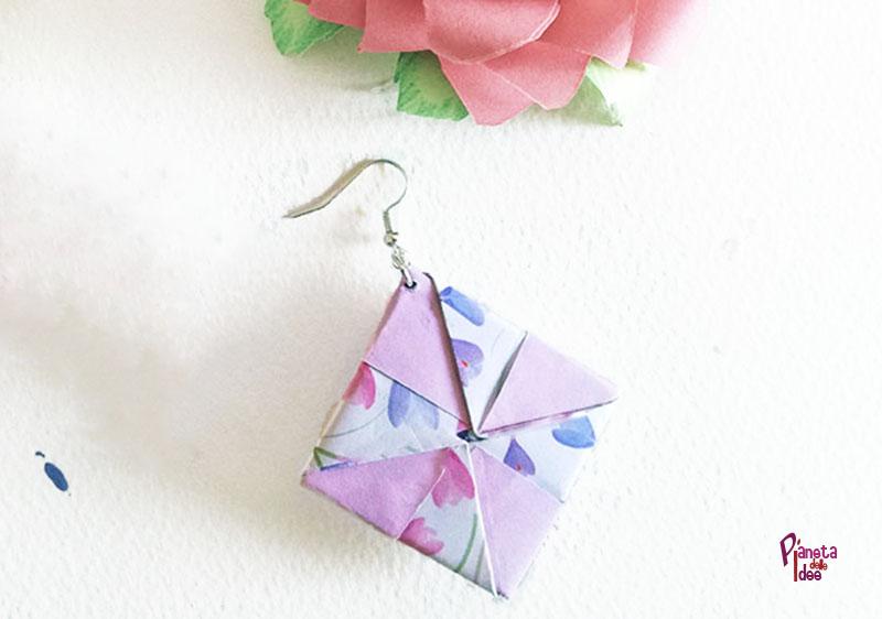 Super Orecchini Origami | Pianeta delle Idee AX86