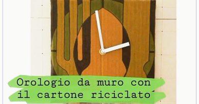 Orologio fai da te | Come realizzare un orologio con il cartone riciclato!